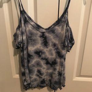 tank top tie dye blouse